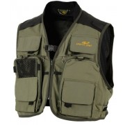 FISHING VEST GROEN L